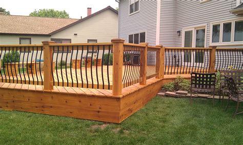 Hand Crafted Cedar Deck Rebuild By Lee Custom Remodeling
