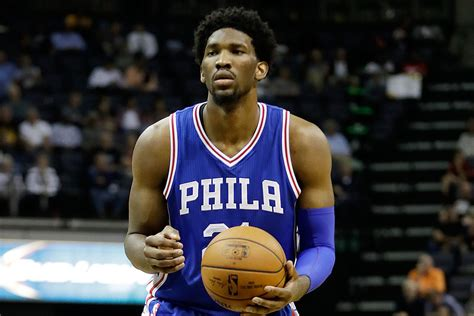 embiid   play  minutes    happening