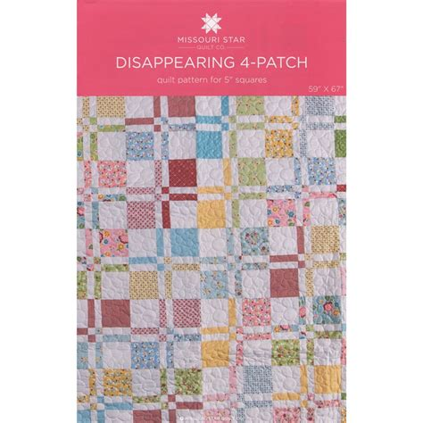 missouri quilt pattern disappearing 4 patch quilt pattern by msqc missouri