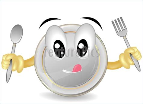 Hungry Plate Illustration