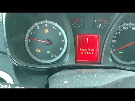gmc terrain check engine light reset chevy equinox traction control light chevy equinox