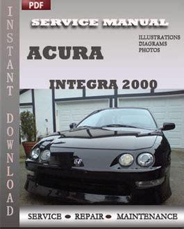 service and repair manuals 2000 acura integra parental controls acura integra 2000 service repair manual instant download