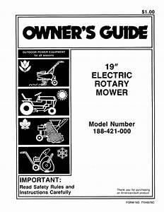 Bolens Lawn Mower 188