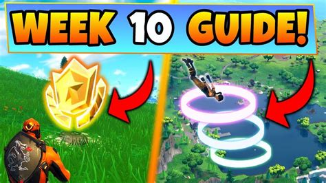fortnite week  challenges guide skydive rings