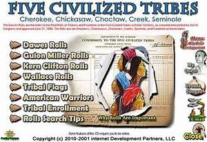 Five Civilized Tribes Online  Why Rolls Are Important