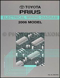 2001 Toyota Prius Wiring Diagram Manual Original