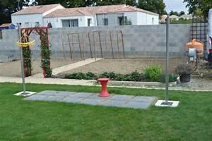 Poteau A Linge En Beton : poteaux linge athome85150 ~ Dailycaller-alerts.com Idées de Décoration