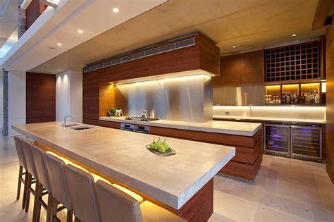 cuisine de luxe moderne maison moderne australienne pour une famille moderne