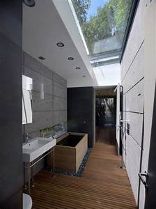 petite salle de bain sous pente de toit 14 verri232re With salle de bain sous toit