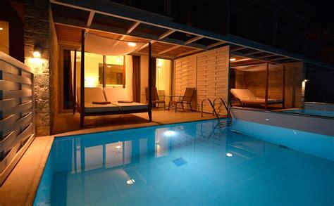 classic room  private pool insula alba resort spa