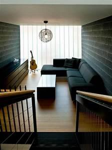 25, Black, Living, Room, Design, Ideas