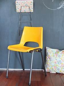 Petite Chaise En Plastique : chaise enfant maternelle ann es 60 70 ~ Teatrodelosmanantiales.com Idées de Décoration