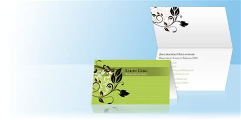 vistaprint business card layout folded business cards tent cards for businesses vistaprint
