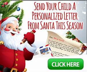 send your child a personalized letter from santa With send your child a letter from santa
