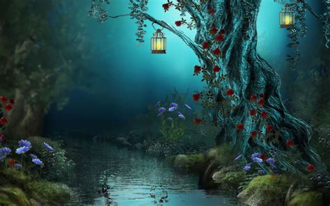 Beautiful Magical Wallpaper by Magical Forest Wallpapers Top Free Magical Forest