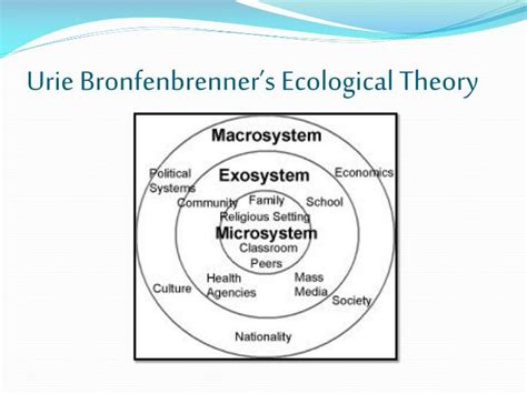 Bronfenbrenner Theory Essay by Urie Bronfenbrenner Essay The Microsystem