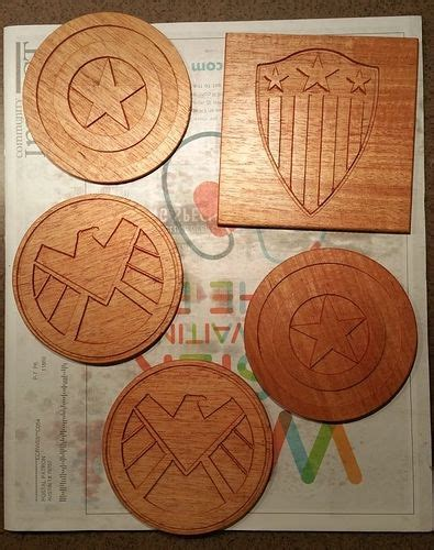 making coasters projects inventables