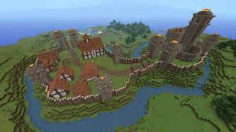 blueprints to build a house minecraft building ideas motte and bailey castle