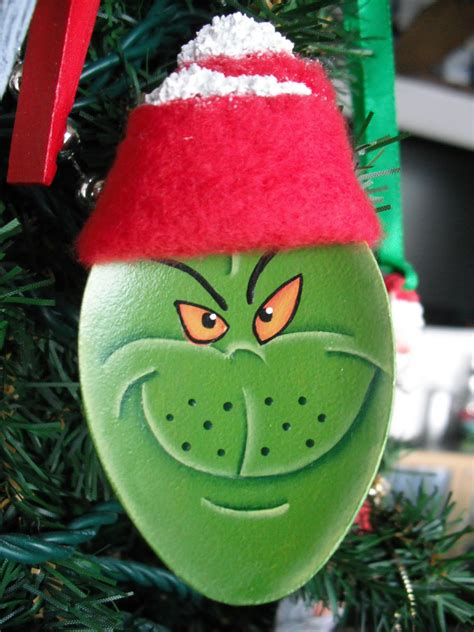 cyndimacs nick knacks grinch spoon ornaments