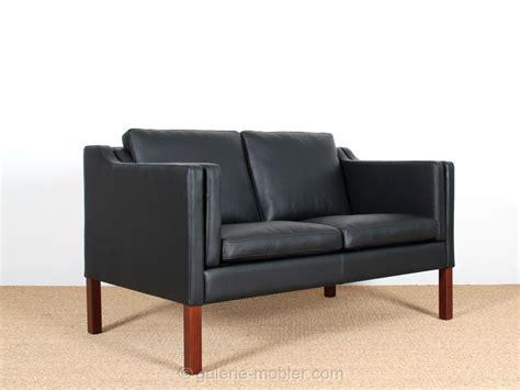 canapé danois canapé danois 2 places en cuir 22 coloris galerie møbler
