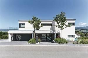 Garage Mit Pultdach : energieeffizientes design haus weberhaus fertighaus ~ Michelbontemps.com Haus und Dekorationen