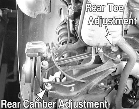 repair guides wheel alignment front  alignment