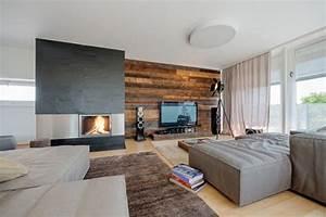 Moderne Holzdecken Beispiele : warme interieur inrichting penthouse door beef architect interieur inrichting ~ Markanthonyermac.com Haus und Dekorationen