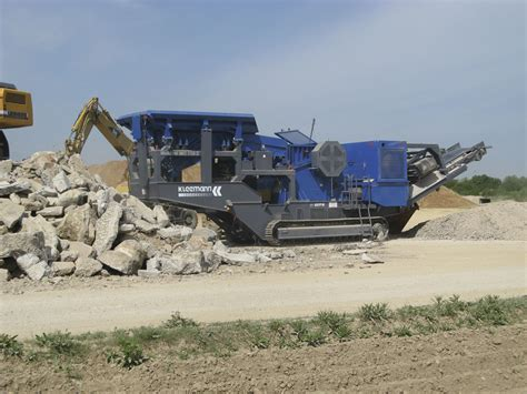 Kleemann Jaw Crusher For Mick George Group