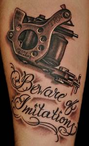 Tattoo Machine Tattoo : Tattoos
