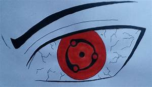 HOW TO DRAW EYES SHARINGAN MADARA MANGEKYOU SHARINGAN ...