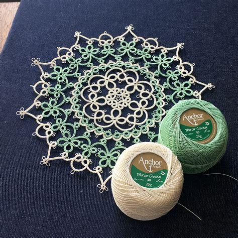 pattern tatting lace marmelo