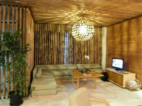 membuat rumah minimalis  bahan bambu desain rumah unik