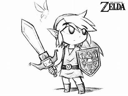 Zelda Coloring Pages Link Printable Bestcoloringpagesforkids Whitesbelfast