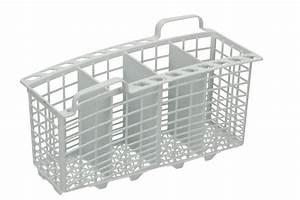 Petit Lave Vaisselle 6 Couverts : panier a couverts 4 compartiments avec petite poignee lave vaisselle 63841 ~ Farleysfitness.com Idées de Décoration