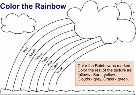 learning  color rainbow coloring pages  kids