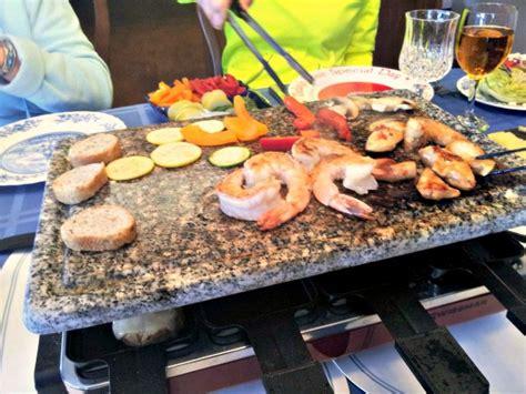 dinner ideas on the grill raclette dinner