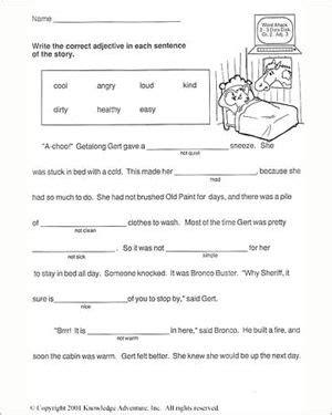 getalong gets better free 2nd grade english worksheet smart kids printables
