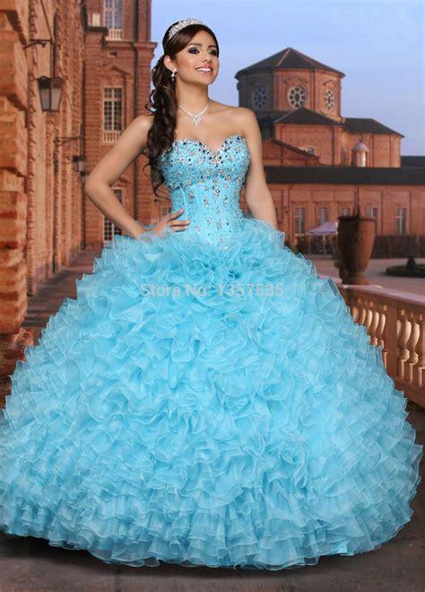 light blue 15 dresses baby blue quinceanera dresses kzdress