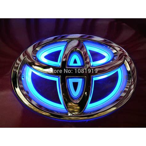 logo toyota corolla led car logo light for toyota corolla highlander camry
