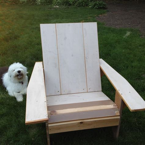 pdf plans how to make your own adirondack chair