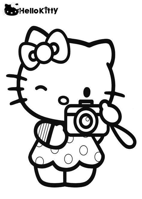 Free Printable Hello Kitty Coloring Pages For Kids (With