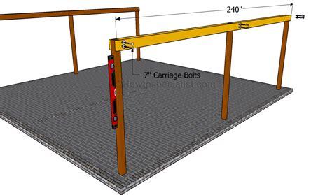 Wir bieten ihnen vom einfachen einzelcarport zum. How to build a double carport | HowToSpecialist - How to Build, Step by Step DIY Plans