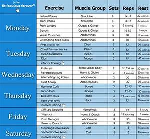 Weekly workout routine | motivation | Pinterest | Exercise ...