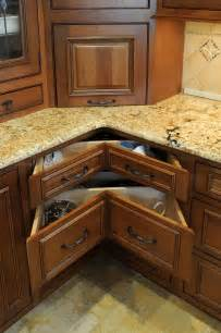 Corner Kitchen Cabinet Ideas Kitchen Corner Storage Cabinets