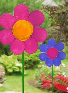 Für Den Garten Basteln : bunte gipsblume f r den fr hling basteln ~ Markanthonyermac.com Haus und Dekorationen