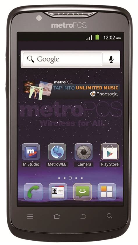 metro pc phones zte anthem 4g lte prepaid android phone