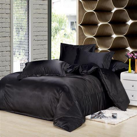 black silk bedding set luxurious bedding silk duvet cover
