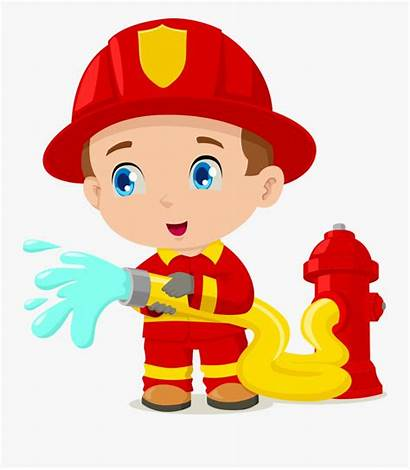Fireman Clipart Firefighter Cartoon Bombero Animado Animados