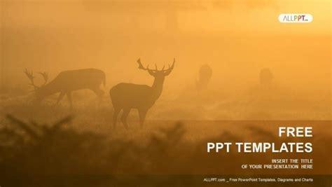 deer   mist powerpoint templates