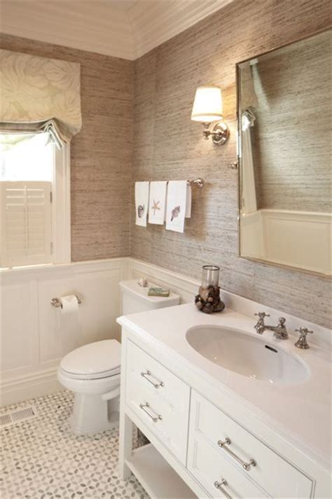 Tile Wainscoting Ideas by 30 Ideas For Using Wainscoting Subway Tile In A Bathroom